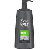 Dove Men + Care Extra Fresh 23.5 oz. Body Wash Pump