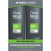 Dove Men + Care Extra Fresh Body Wash 2 pk.