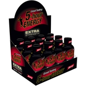 5 Hour Energy Extra Strength Berry Flavor Drink, 12 Pk.