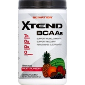Scivation Xtend BCAAs Drink Mix Powder, 30 servings
