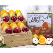 Wine Country Fruit Extravaganza Gift Basket