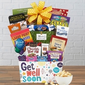 Wine Country Get Well Soon Gourmet Food Basket