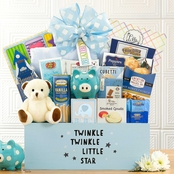 Wine Country Gift Baskets Welcome Home Baby Boy Gourmet Food Basket