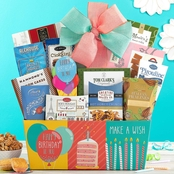 Wine Country Food Baskets Happy Birthday Gourmet Food Basket