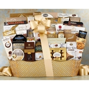 Wine Country Food Baskets The V.I.P. Gourmet Food Basket