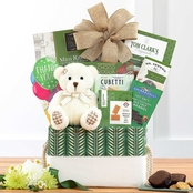 Wine Country Bear Hugs Thank You Gourmet Food Basket