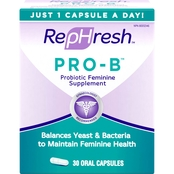 RepHresh Pro-B Probiotic Feminine Supplement Oral Capsule 30 pk.