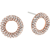 Michael Kors Brilliance Pave Crystal Stud Earrings