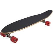 Kryptonics Blocktail Longboard 36 In. Complete Skateboard, Authentic 65 Graphic