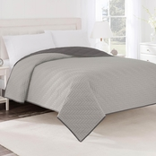 Martex Reversible Quilted Coverlet