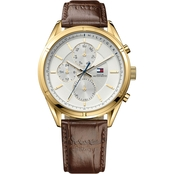 Tommy Hilfiger Men's Sport Lux Watch with Silver Sunray Dial 1791127