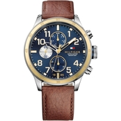 Tommy Hilfiger Men's Cool Sport Watch with Navy Dial
