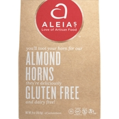 Gluten Free Palace Aleia's Gluten Free Almond Horn Cookies 4 pk.