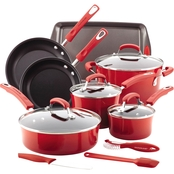 Rachael Ray Hard Enamel Nonstick 14 Pc. Cookware Set