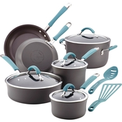 Rachael Ray Cucina Hard-Anodized Aluminum Nonstick 12 Pc. Cookware Set