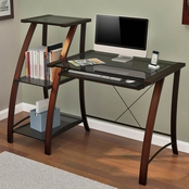 Z-Line Triana Desk and Bookcase