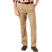 Dockers Big & Tall Washed Khaki Flat Front Pants