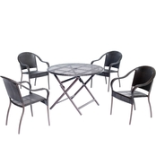 Hanover Orleans 5 pc. Round Dining Table Set