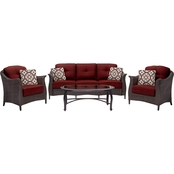 Hanover Gramercy 4 pc. Seating Set