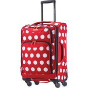 American Tourister Softside Spinner, Minnie Mouse Polka Dot