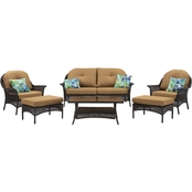 Hanover San Marino 6 pc. Outdoor Patio Set