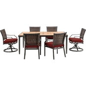 Hanover Outdoor Mercer Dining 7 Pc. Set