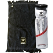 Sayre Golf Towel/Ball T Set, Army