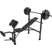 Competitor OPP Bench Plus 80 Lb. Weight Set