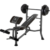 Marcy Standard Bench Plus 80 Lb. Weight Set