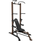 Steel Body Power Tower Plus Fold Up Bench