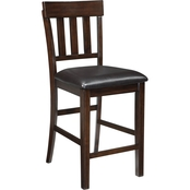 Ashley Haddigan Dining Collection Upholstered Barstool 2 Pk.