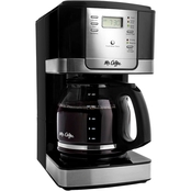 Mr. Coffee Advanced Brew 12 Cup Programmable Coffee Maker, Red
