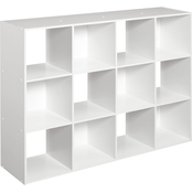 ClosetMaid Decorative 12 Cube Storage, White