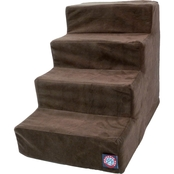 Majestic Pet 4 Step Suede Pet Stairs