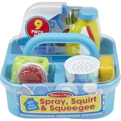 Melissa & Doug Let's Play House Spray, Squirt and Squeegee, 9 pc. Play Set