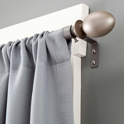 Kenney 5/8 In. Diameter Valentine Curtain Rod, 28 to 48 in.