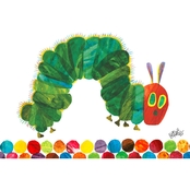 Greenbox Art 24 x 18 Eric Carle's The Very Hungry Caterpillar Canvas Wall Art