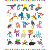 GreenBox Art Eric Carle's ABCs Canvas Wall Art 18 x 24