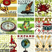 Greenbox Art 30 x 30 Sweet Sayings for Boys Canvas Wall Art