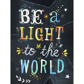 GreenBox Art Be a Light to the World Canvas Wall Art 18 x 24