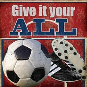 Greenbox Art 14 x 14 Give It Your All - Soccer Canvas Wall Art