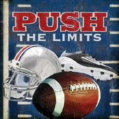 Greenbox Art 14 x 14 Push the Limits - Football Canvas Wall Art