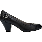 LifeStride Give Arch Pumps With Buckle Detail