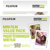 FujiFilm instax Mini Instant Film Value Pack, 60 Sheets