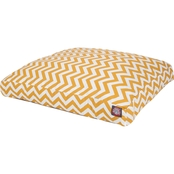 Majestic Pet Chevron Extra Large Rectangle Pet Bed
