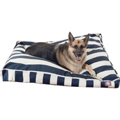 Majestic Pet Vertical Stripe Extra Large Rectangle Pet Bed