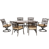 Hanover Outdoor Monaco Dining 7 Pc. Set