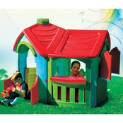 National Sporting Goods PalPlay Villa Playhouse With Extended Kitchen