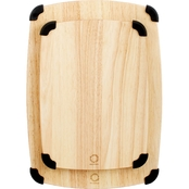 Martha Stewart Collection Rubberwood Grip Cutting Boards, Set of 2