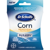 Dr Scholl's Corn Removers with Duragel Technology, 5 Cushions and 6 Medicated Discs